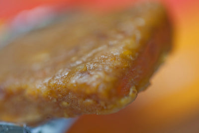 Close up shot of Mango bar.