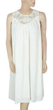 Zara Basic Crochet Ivory Dress M