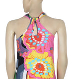 River Island London Printed Patchwork Tank Top S