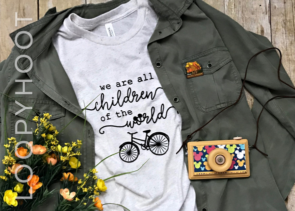 Children of the World Shirt in Oatmeal