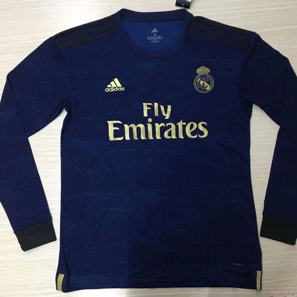 Real Madrid | Away Kit 19/20 | Long Sleeves