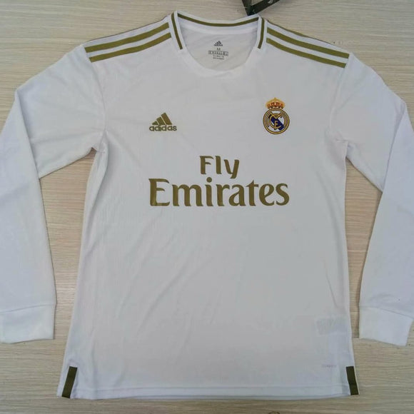 Real Madrid | Home Kit 19/20 | Long Sleeves