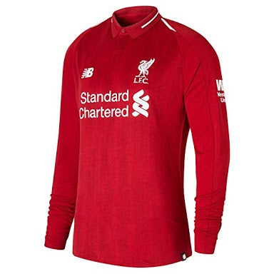 Liverpool | Home Kit 18/19 | Long Sleeves