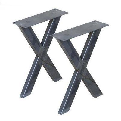 W5034E Bench X legs, 1 Pair (Set of 2 legs) 40cm tall