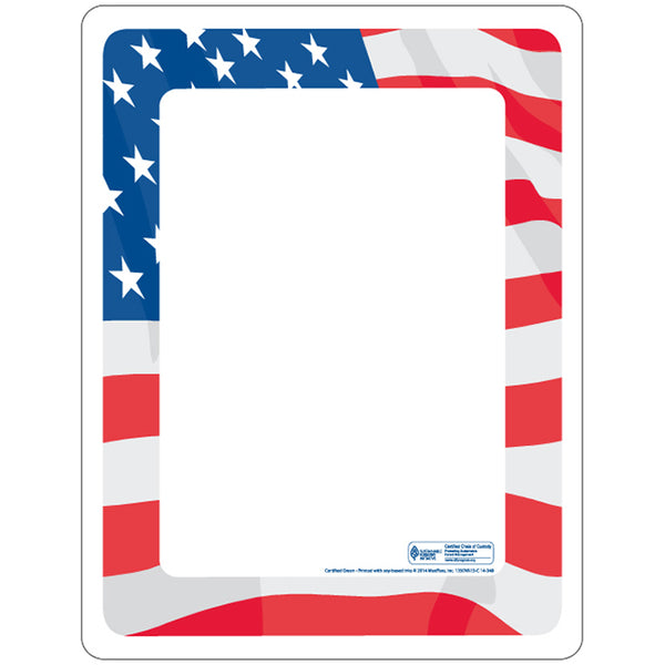 "Flag Cold Side 8-13/16"" x 1-1/2"" Traycovers - Case of 2000"