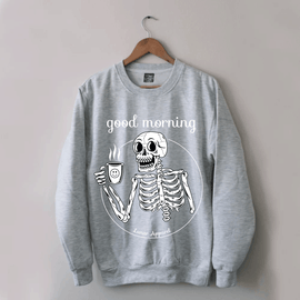 Good Morning Sweater - Lunar Apparel - Alternative Pop-Punk Clothing