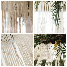 You Complete Me Large Handmade Yarn Macrame Wedding Backdrop - The House Phoenix