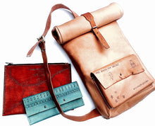 Brooklyn Leather accessories are custom motorcycle inspired leather bags, laptop cases, wallets