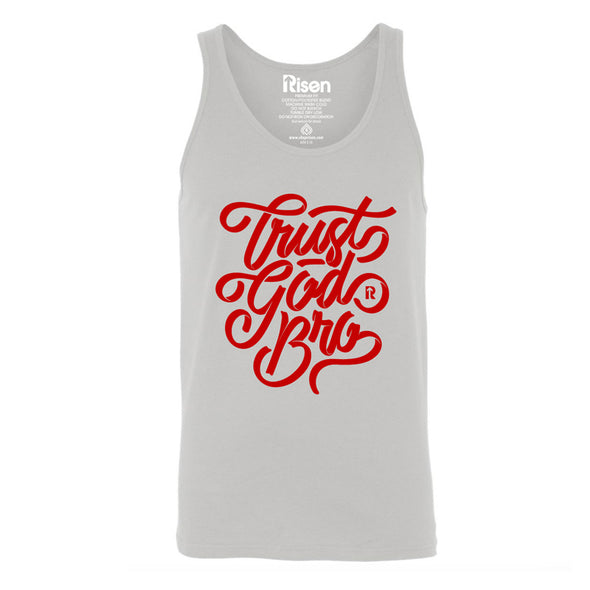 Trust God bro tank top