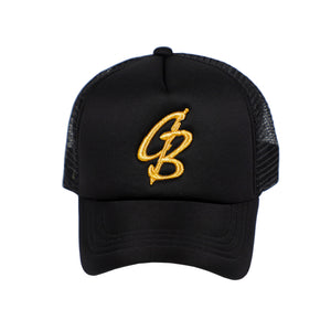 CB Metallic Gold Trucker Cap