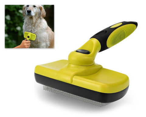 Pet Self Cleaning Slicker Brush