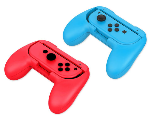 Pack of 2 Nintendo Switch Grip Kits -  Blue and Red