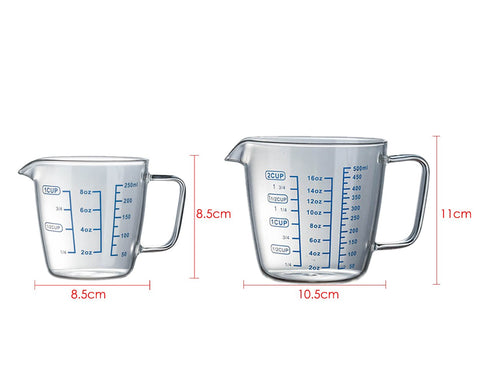 Glass Measuring Cup for Liquids