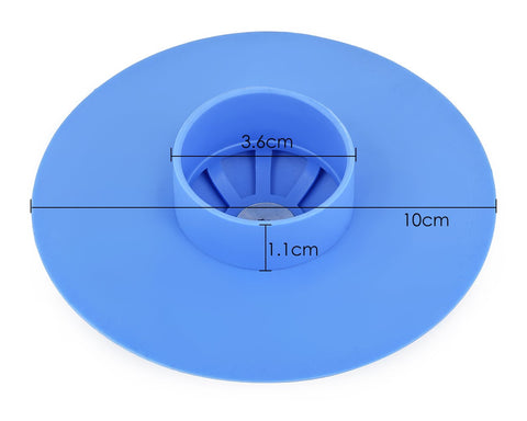 5 pieces 10cm 2 in 1 Stopper and Hair Catcher