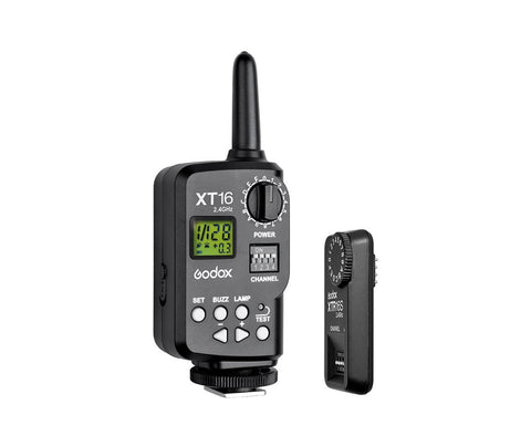 Godox XT-16S 2.4G Wireless Remote Power Control and Flash Trigger