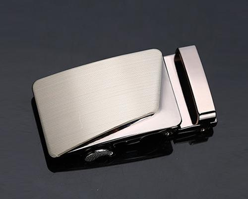 Classic Adult Men Metal Sliding Automatic Belt Buckle - Simple