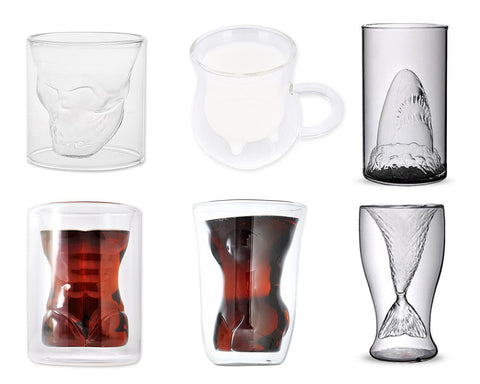 Creative Double Walled Coffee Glasses
