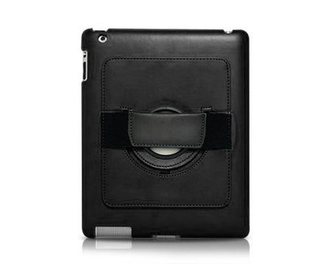 Rotating Series iPad Air 2 Flip Leather Case - Black