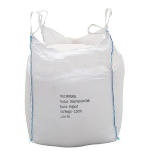Dried Vacuum Salt Bulk Bags