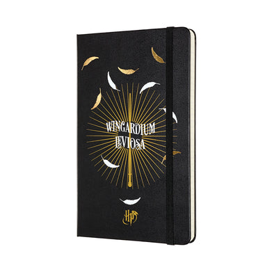 Harry Potter Moleskine Harry Potter Wingardium Leviosa Notebook - Accio This