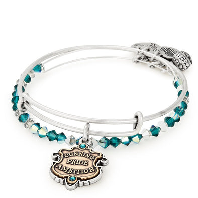 Harry Potter ALEX AND ANI HARRY POTTER SLYTHERIN Set of 2 - Accio This