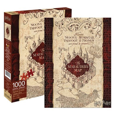 Harry Potter Marauder's Map 1,000-Piece Puzzle - Accio This