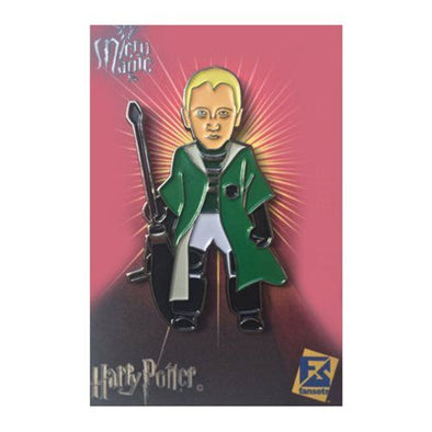 Harry Potter Draco Malfoy Quidditch Pin - Accio This