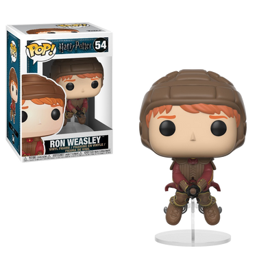 Harry Potter Ron Weasley on Broom Pop! Vinyl Figure - Accio This