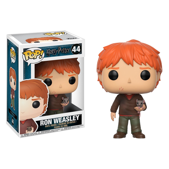 Harry Potter Ron Weasley with Scabbers Pop! Vinyl Figure - Accio This