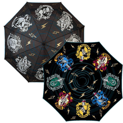 Harry Potter Crest Liquid Reactive Umbrella - Accio This