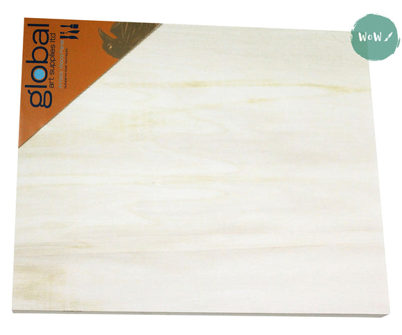 Painting Panel- Natural Wood, 18mm thick UNPRIMED (Orange label)- up to 25% off Marked Price
