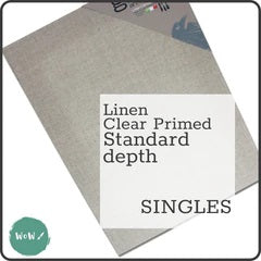 Loxley Masters Stretched Linen Canvas, Clear Gesso Primed, 20mm deep - Up to 25% off