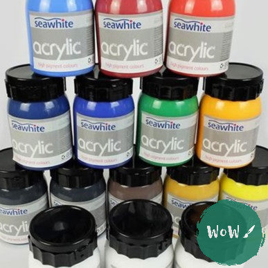 Seawhite High Pigment Acrylic 500ml- As low as £7.95 each