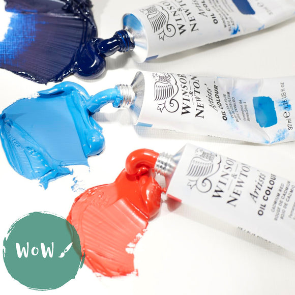 Winsor & Newton Artists Oil Paints 37ml Tubes- Up to 25% off