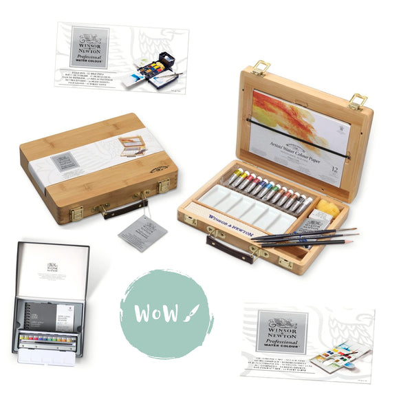 Winsor & Newton Professional (Artist's )Water Colour Sets