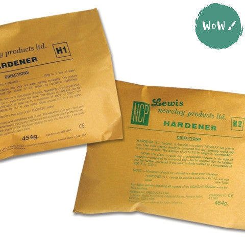 NEWCLAY - Hardener H1 or H2