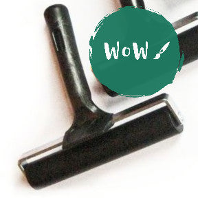 Hard rubber roller for Lino printing & General Crafts 150mm wide