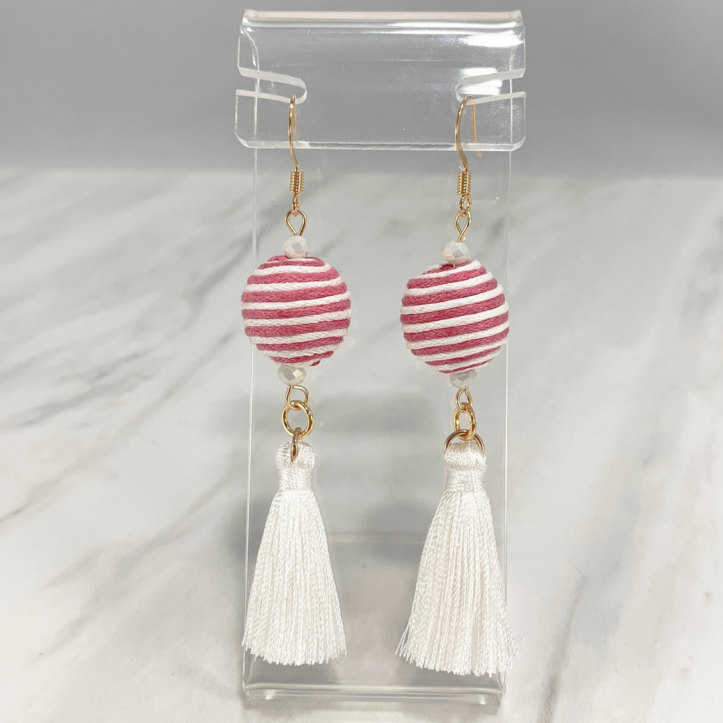 Calinda Tassel Earrings - Available in 2 Colors