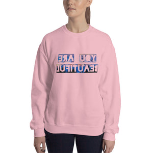 You Are Beautiful First Edition Crewneck Sweatshirt