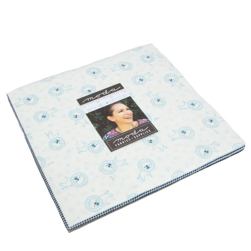 Soft & Sweet Flannel Junior Layer Cake Light Blue