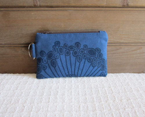W-ZW-Blue Fabric, Navy Urchin- $12.50