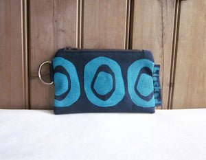 W-ZW-Navy Fabric, Aqua Avocado - $12.50