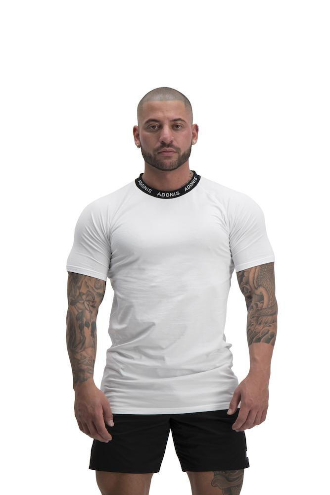 Adonis Gear Pursuit T-Shirt - White