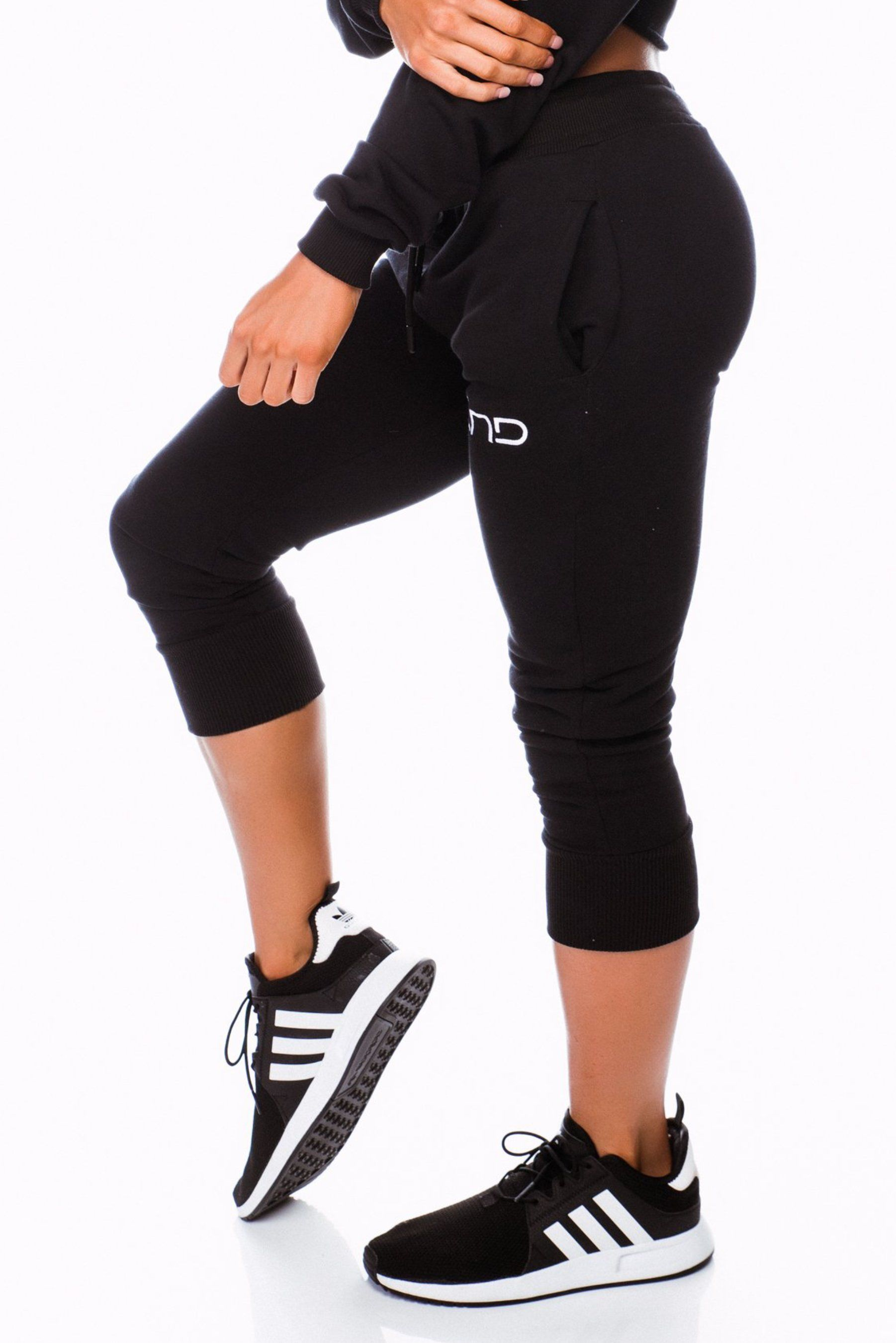 Three End Womens Baller Track Pants - Black
