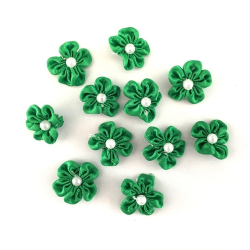 Artfull Embellies - Fabric Flowers - Small Satin - St Patrick