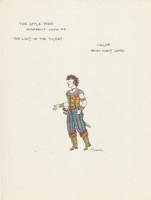 THE APPLE TREE - Brian D'Arcy James as 'Sanjar' Original costume by Jess Goldstein