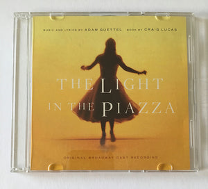 LIGHT IN THE PIAZZA - Selections from the original cast recording CD