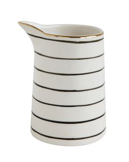 Striped Creamer