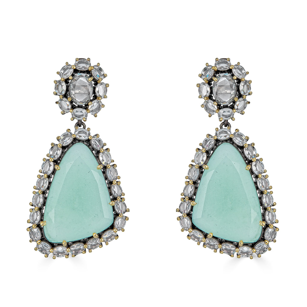 Jorja Seafoam Drop Earrings