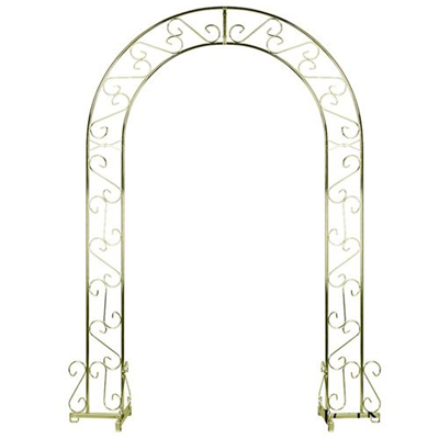 Brass Wedding Arch undecorated